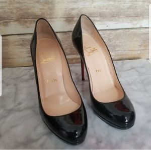 Christian Louboutin 120 Simple Patent Pump 38 | 8